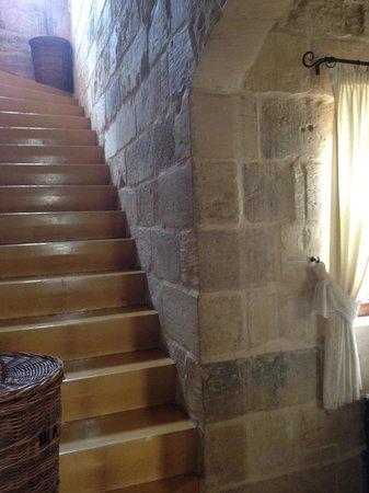 The Burrow : Burrow stairs