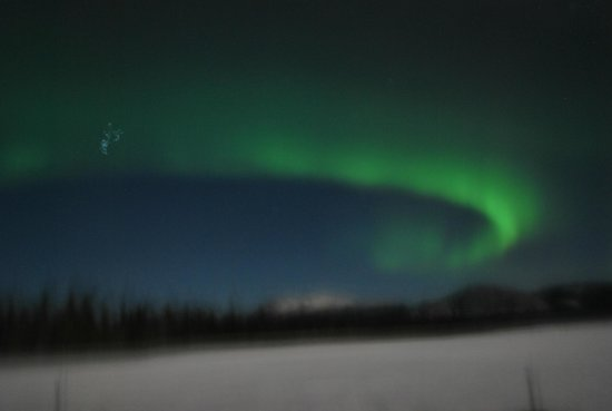 Sundog Retreat: The Northern Lights again.