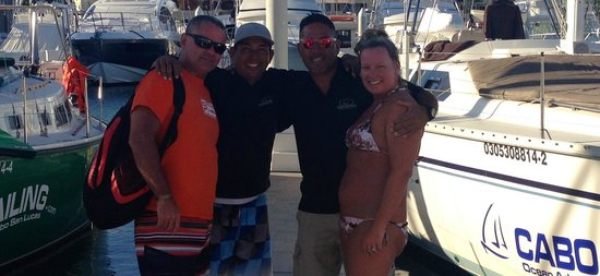 Cabo Sailing Ocean Adventures: On the dock