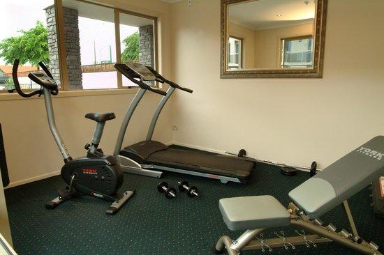 Emerald Spa Motor Inn: Gym facilities