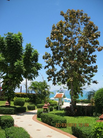 Samui Buri Beach Resort: территория