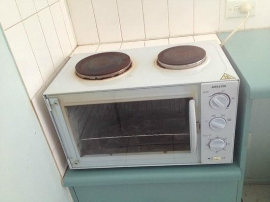 Whitsunday Terraces Resort : Not working cooking equipment