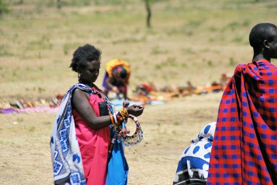 Governor's Camp: the Masai Village