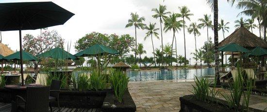 Patra Jasa Bali Resort & Villas: View form breakfast