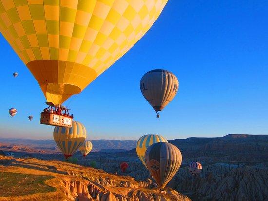 Rose valley - Picture of Turkiye Balloons, Goreme ...