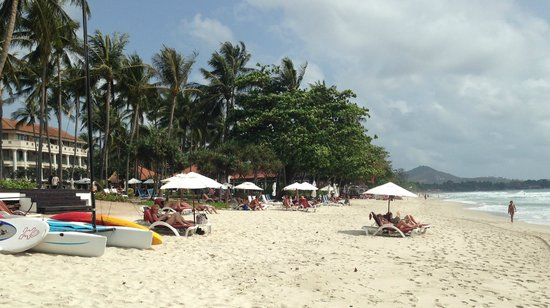 Centara Grand Beach Resort Samui : Beach