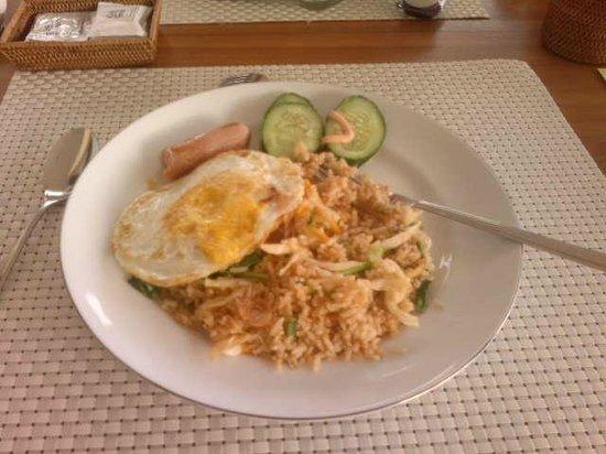 Puri Hasu Bali: Завтрак