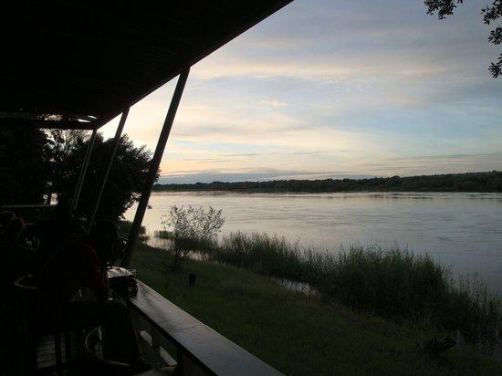 Protea Hotel Zambezi River Lodge: view from bar
