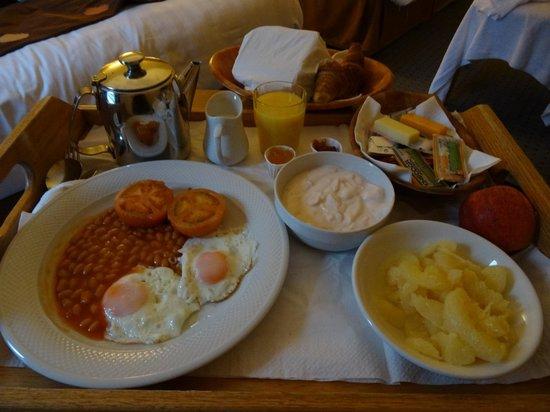 Holiday Inn Killarney: Завтрак в номер