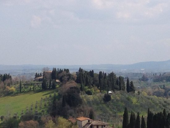 Walkabout Florence Tours: View from the Chianti organic farm