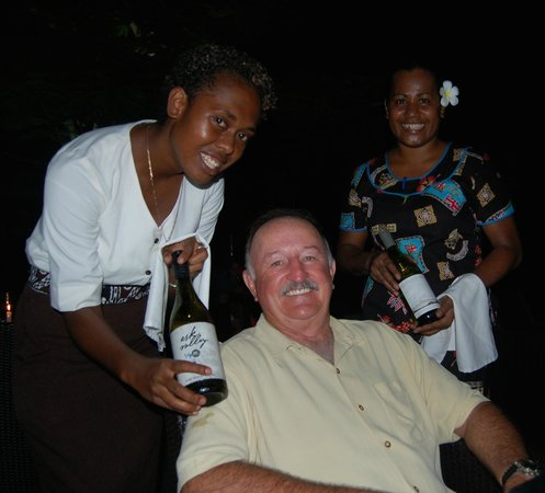 Lomani Island Resort: Nice wine selection
