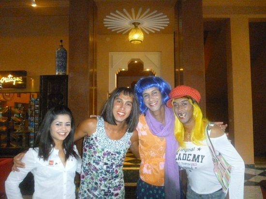 Hotel Riu Tikida Garden : hotel entertainment