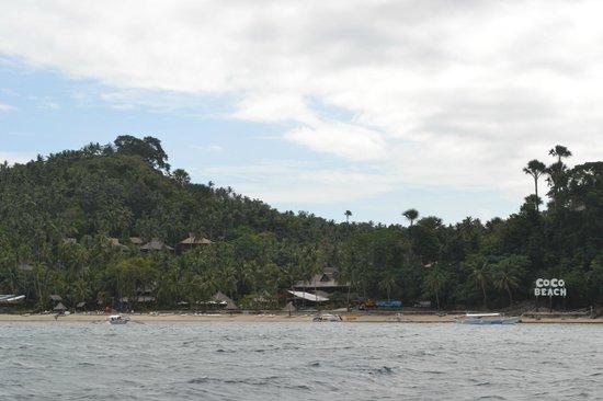 Coco Beach Island Resort : Blick auf Cocobeach