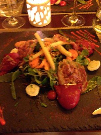 le O2 verdun: Salade gourmande en entrée