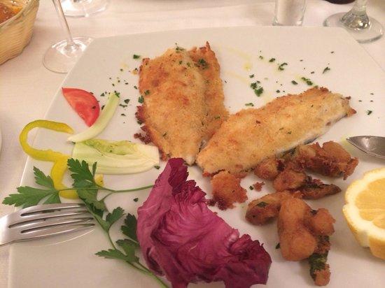 Trattoria da Nino : Very good fish filet