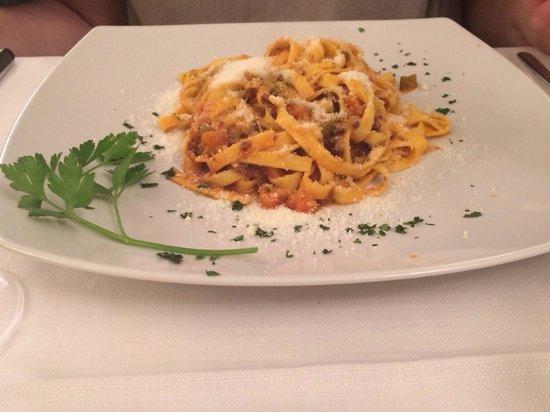 Trattoria da Nino : Homemade Tagliatelle Bolognese
