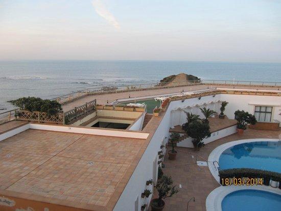 Hotel Duque de Najera: Blick auf den Atlantik