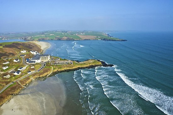 Inchydoney Island Lodge & Spa: Aerial View of Inchydoney