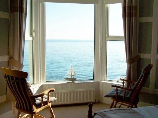 Tide's Reach Bed & Breakfast: The view from Morannedd or main guest room