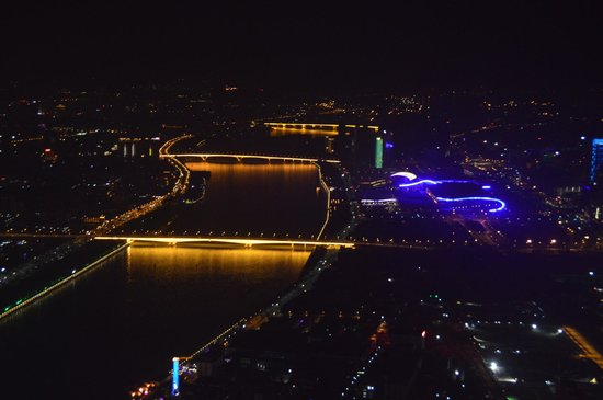 Canton Tower : Pearl river view from the Tower