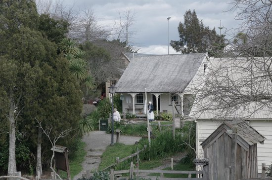 Howick Historical Village View 2014