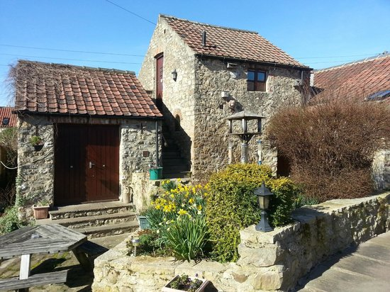 The Castle Arms Inn: Our rooms in a converted barn