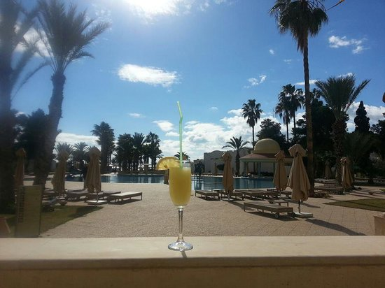 Hotel Palace Oceana Hammamet: the pool