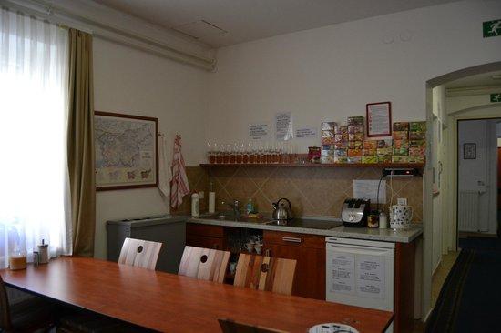 Penzion Pod Lipo: Sala ristoro