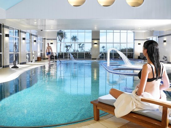 Inchydoney Island Lodge & Spa: Heated Seawater Therapy Pool