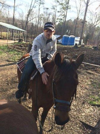 Dead Broke Farm: My son Joshua on Roxy