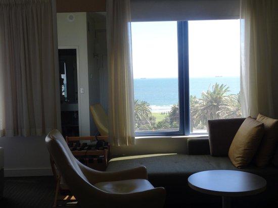 Novotel Melbourne St Kilda: view from office desk
