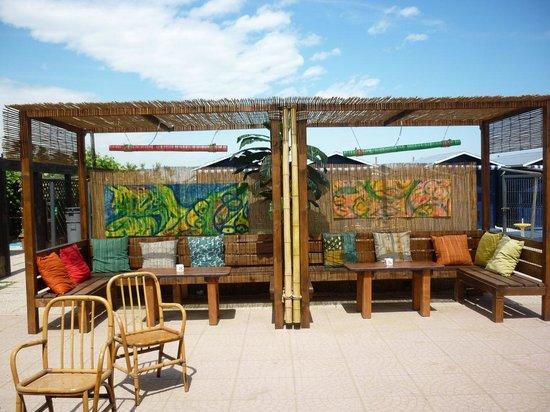 Il bar all'aperto del Pachuka