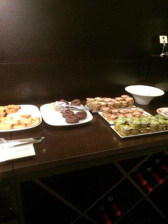 Acevi Villarroel: petit déjeuner