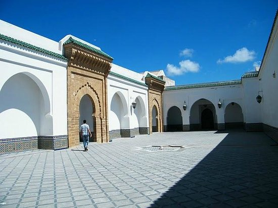 Sale Grand Mosque, courtyard