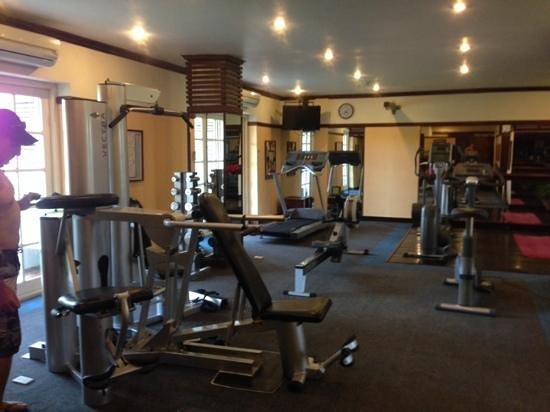 Victoria Hoi An Beach Resort & Spa : gym