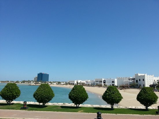 Sharq Village & Spa: view to the hotel