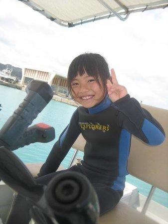 Tetsu Cruise Okinawa - Day Tour: ダイビングに挑戦!沖縄子供ダイビング