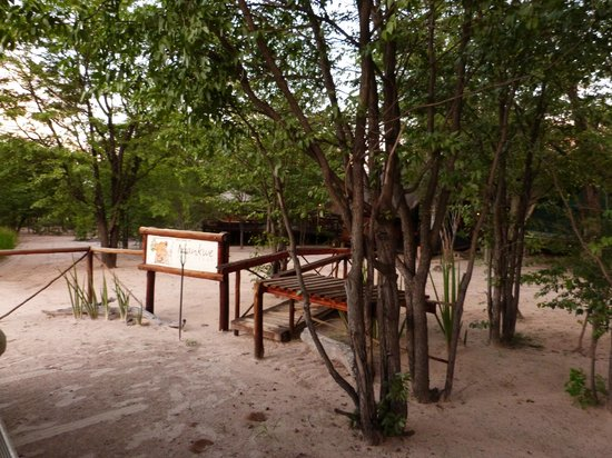Mankwe Bush Lodge: Ingresso