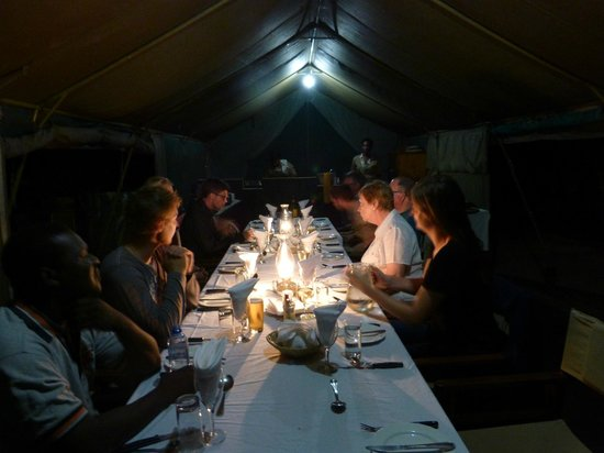 Mankwe Bush Lodge: Ristorante