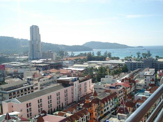 The Royal Paradise Hotel & Spa : Вид из номера
