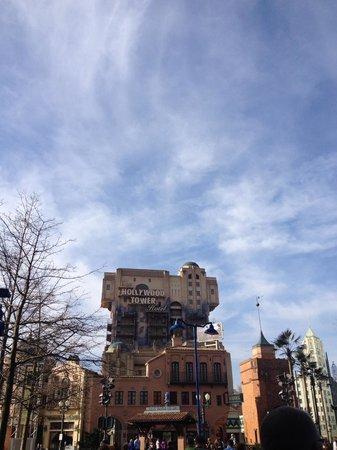 Walt Disney Studios: The best ride in the park- Terror Tower
