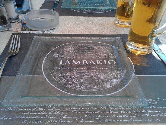 Tambakio: ***