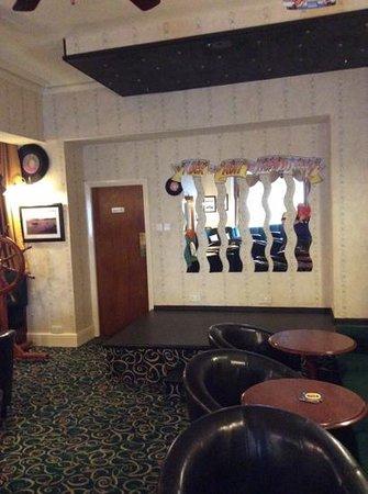 The Marlborough Hotel: Stage Area