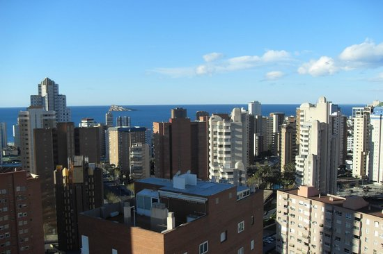Don Salva Apartments: Sea View from floor 19