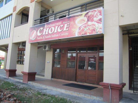 Choice Restaurant: The main outlet