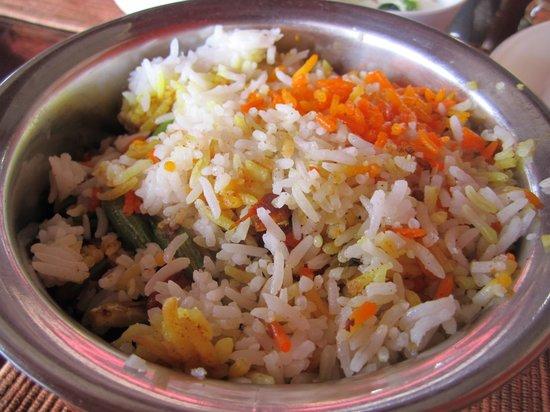 Choice Restaurant: Vegetarian briyani