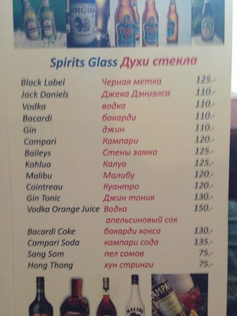 Eightfold Restaurant: Духи стекло:)