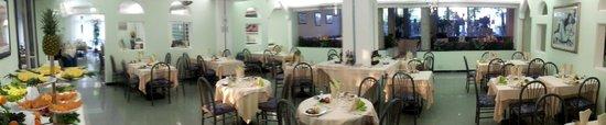 Sala ristorante dell'Hotel Palace