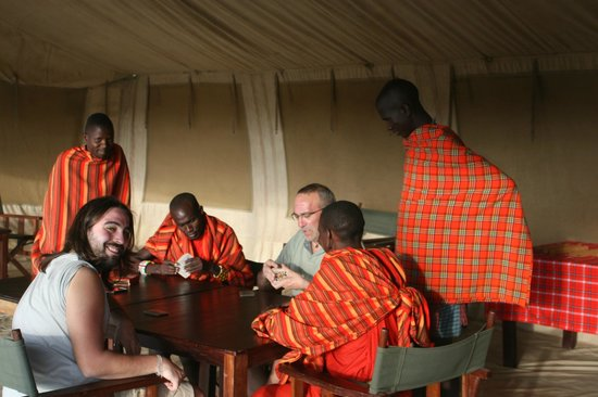 Oloi Karere Mara Camp : Poker Masai