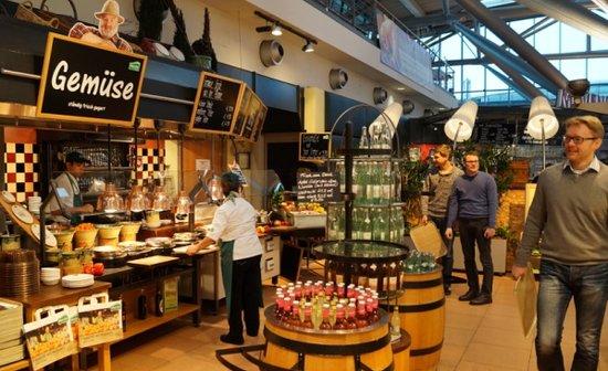 Marché Airport Hamburg: Ansicht